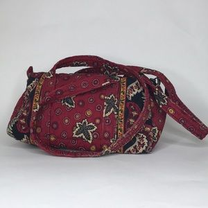 Vera Bradley Tote Red Coin Retired Pattern